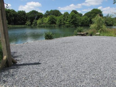 The shell swim at L'Angottiere carp fishery offering exclusive carp fishing in france