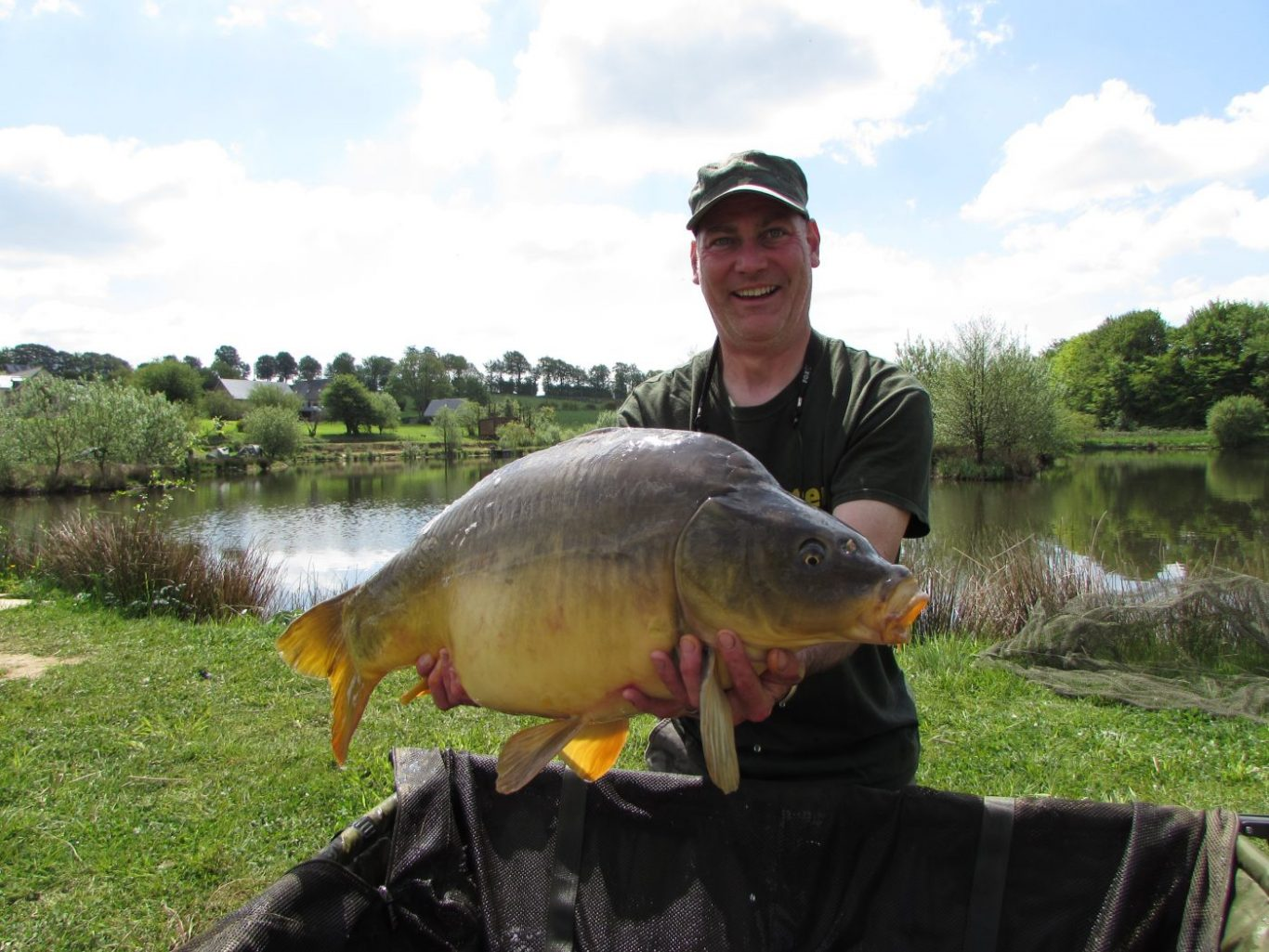 May 2016 l 39 angottiere carp fishery for Fishing in france