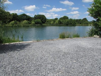 The Lodge swim at L'Angottiere carp fishery offering exclusive carp fishing in france