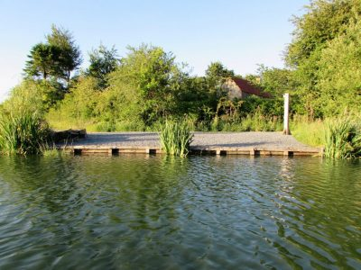 shell swim at L'Angottiere carp fishery offering exclusive carp fishing in france
