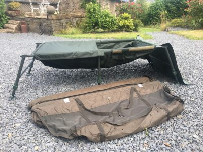 fishery equipment provided at L'Angottiere carp fishery