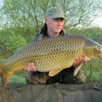 carp catch at L'Angottiere carp fishery offering exclusive carp fishing in france
