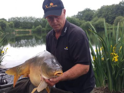 carp at l'angottiere carp fishery offering exclusive carp fishing in france