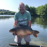 carp caught at l'angottiere carp fishery from the lodge swim and shell swim