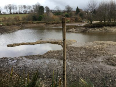 The Hole at L'Angottiere carp fishery