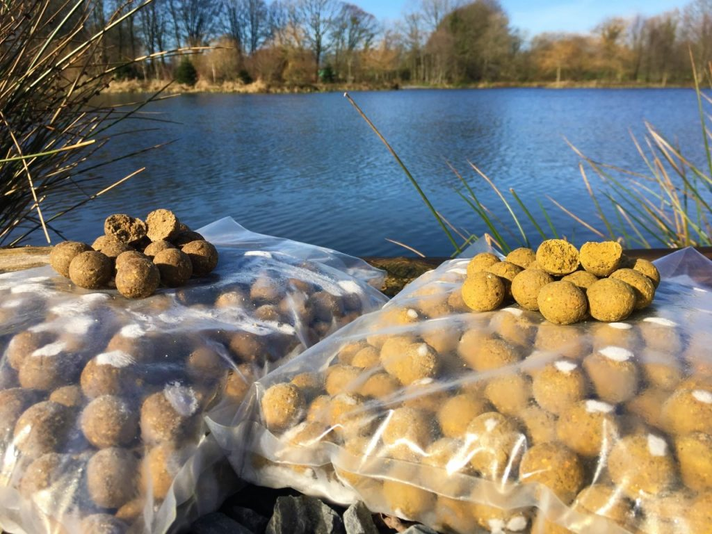 Boilies available at L'Angottiere carp fishery