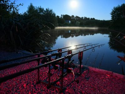 L'angottiere carp fishery normandy france