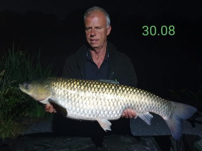 carp at L'angottiere normandy france