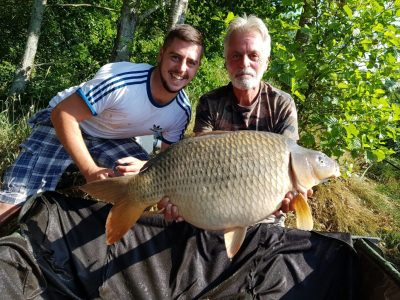 carp at L'angottiere normandy france