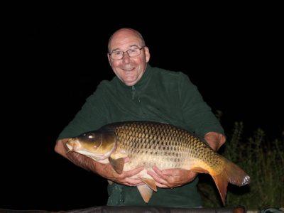 carp caught at L'Angottiere carp fishery, france