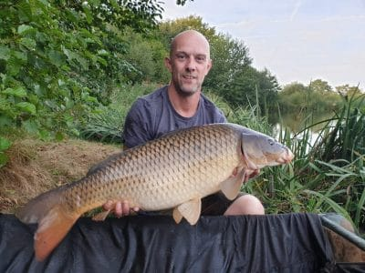 carp at l'angottiere carp fishery offering carp fishing in france