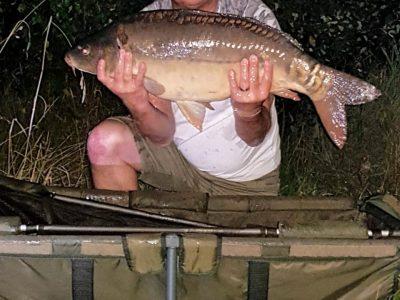 carp caught at l'angottiere carp fishery