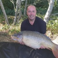 carp caught at l'angottiere carp fishery