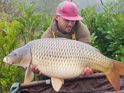 carp caught carp fishing in france
