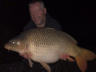 carp caught carp fishing in france