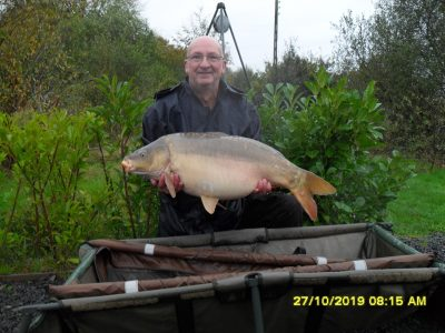 carp caught at l'angottiere by gary wheat