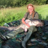 78lb catfish from L'Angottiere in france