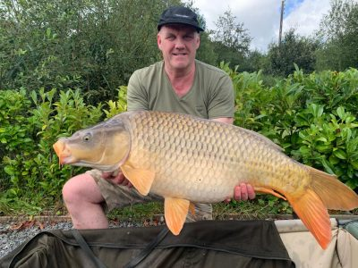 carp from L'Angottiere carp fishery offering carp fishing in france