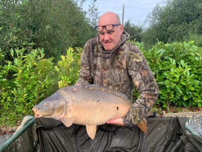 carp from L'Angottiere carp fishery offering fishing holidays in france