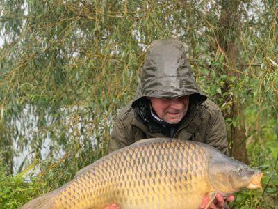 L'Angottiere carp fishery, france
