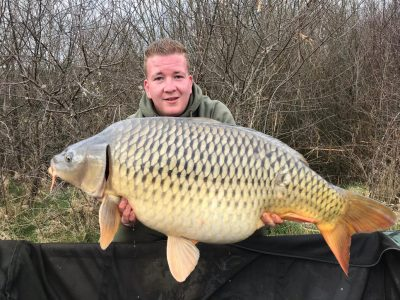 Carp from L'Angottiere carp fishery offering carp fishing in Northern france
